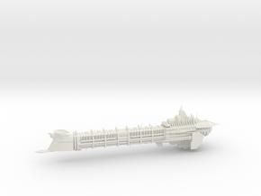 Imperial Legion Long Cruiser - Armament Concept 1 in White Natural Versatile Plastic