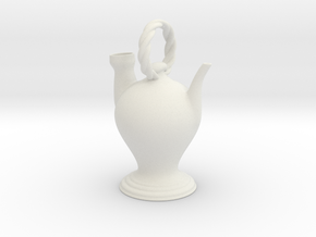 Botijo Febrero in White Natural Versatile Plastic