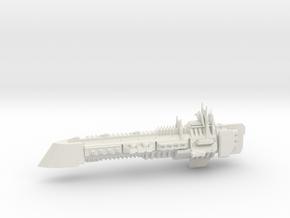 Imperial Legion Super Cruiser - Armament Concept 3 in White Natural Versatile Plastic