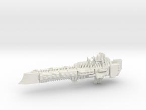 Imperial Legion Super Cruiser - Armament Concept 2 in White Natural Versatile Plastic