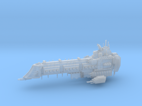 Retribution Class Capital Ship in Smooth Fine Detail Plastic
