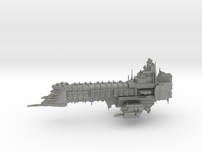 Capital Ship - Concept 1  in Gray PA12