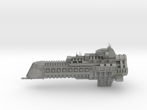 Imperial Legion Cruiser - Concept 2 in Gray PA12
