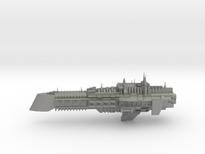 Imperial Legion Cruiser - Concept 6 in Gray PA12