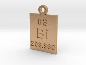 Bi Periodic Pendant in Natural Bronze