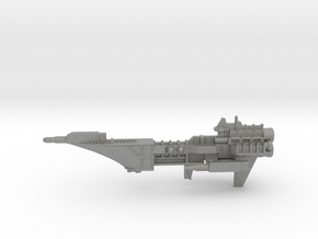 Navy Frigate - Concept 2  in Gray PA12