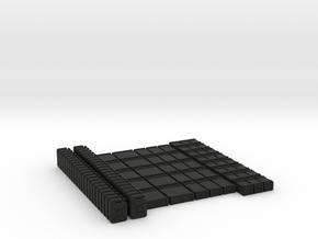 Ammoboxes Crates and Fuelcans 1/72 // Munitionskis in Black Premium Versatile Plastic
