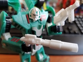 Classics Mirage Weapons in White Natural Versatile Plastic