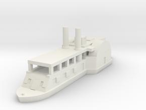 1/600 USS Ft. Hindman in White Natural Versatile Plastic