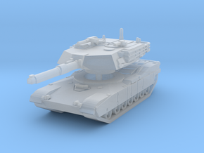 M1A1 Abrams Tank 1/200 in Smooth Fine Detail Plastic