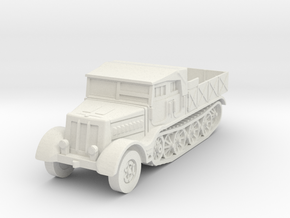 Sdkfz 9 FAMO (open) 1/56 in White Natural Versatile Plastic