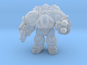 Starcraft 1/60 Terran Firebat Armored Soldiersmall in Smooth Fine Detail Plastic