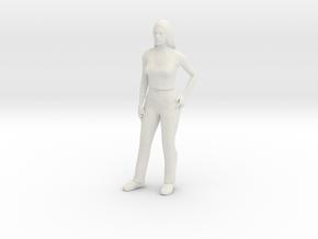Linda in White Natural Versatile Plastic
