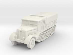 Sdkfz 9 FAMO (covered) 1/56 in White Natural Versatile Plastic