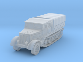 Sdkfz 9 FAMO (covered) 1/285 in Smooth Fine Detail Plastic