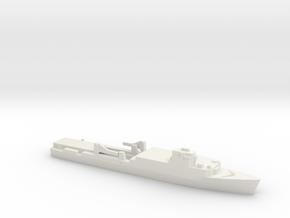 Ouragan-class LPD, 1/1250 in White Natural Versatile Plastic