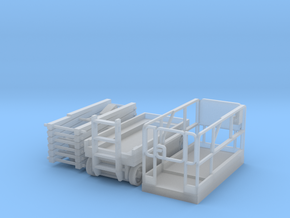 Scissor Lift 1-87 HO Scale Parted in Smooth Fine Detail Plastic
