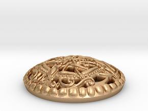 Urnes Pommel Marker in Natural Bronze: 1.5 / 40.5