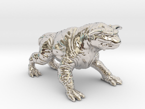 Ghostbusters 1/60 Terror Dog zuul gozer miniature in Rhodium Plated Brass