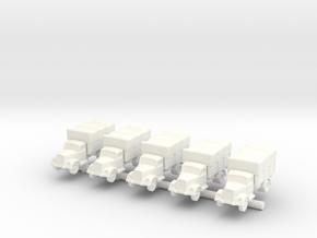 Opel Blitz x5 in White Processed Versatile Plastic