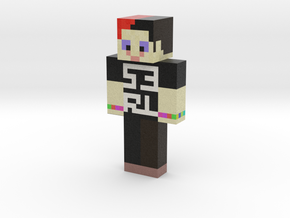 DJ S3RL | Minecraft toy in Natural Full Color Sandstone