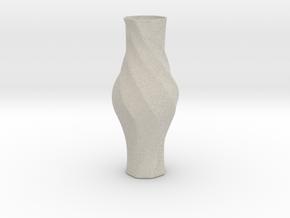 Vase-17 in Natural Sandstone