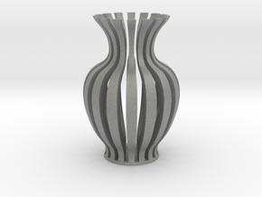 Vase-18 in Gray PA12