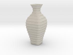 Vase-19 in Natural Sandstone