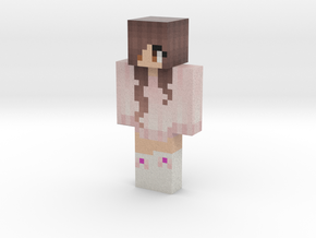 abby | Minecraft toy in Natural Full Color Sandstone