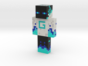 gamer guy | Minecraft toy in Natural Full Color Sandstone