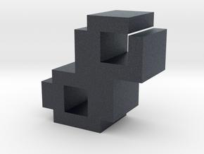 """""""8"""" inch size NES style pixel art font block in Black PA12"""