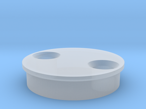 SCOPE WHEEL TOP in Smooth Fine Detail Plastic