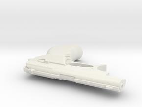 1:3 Miniature Seburo M-5 in White Natural Versatile Plastic