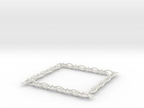 fish necklace in White Natural Versatile Plastic