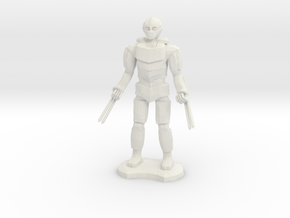 Assassin Golem  in White Natural Versatile Plastic