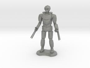 Assassin Golem  in Gray PA12