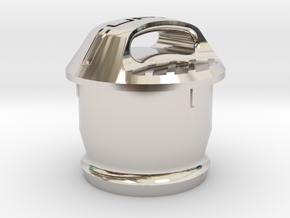 Cupra 12V Socket Cover in Platinum