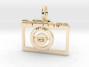 Vintage Camera in 14K Yellow Gold