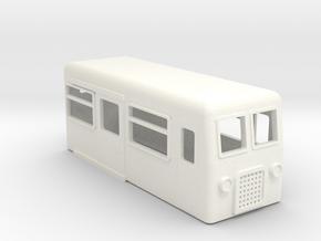 009 FREELANCE RAILBUS in White Processed Versatile Plastic