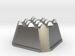 Truffle Shuffle 3a in Natural Silver