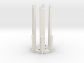 TFA Wannawanga Resin Guide in White Natural Versatile Plastic