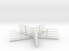5 blades rotors x5 115ft 1/285 in White Natural Versatile Plastic