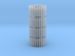 2256-ven-nozz-stack in Smooth Fine Detail Plastic
