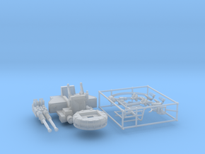 1/72 40mm Bofors Twin Mount KIT in Smooth Fine Detail Plastic