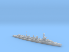 1/600th scale ORP Conrad polish light cruiser in Smooth Fine Detail Plastic