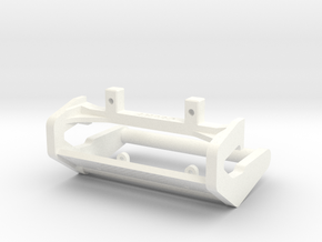 tth1204-01 Tamiya Ford F150 Bull Bar in White Processed Versatile Plastic
