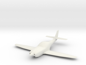 Lancair Legacy in White Natural Versatile Plastic: 1:48 - O
