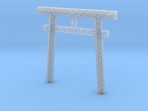 Truss Torii Gate in Smooth Fine Detail Plastic