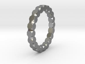 Kaethe - Ring in Natural Silver: 6 / 51.5