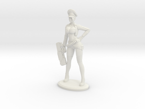 Bombshellshock Short gun Plastic in White Natural Versatile Plastic: Small